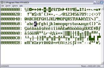 1Fh binary hex editor